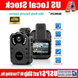 HD 1080P Body Worn Camera Night Vision Waterproof Body Mount