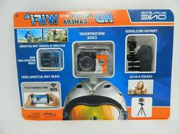 Explore One HD Action Helmet Blog Camera Wifi 8GB Memory Car