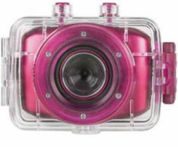 Vivitar HD Action Waterproof Camera / Camcorder - Hot Pink D
