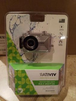 Vivitar HD Action Waterproof Camera / Camcorder - Silver DVR