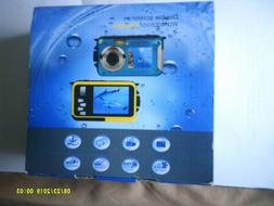 HD Double Screen Waterproof Camera 24MP 16x Digital Zoom Div