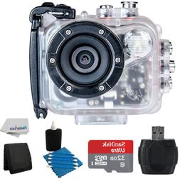 Intova HD2 Marine Grade Action Camcorder With SanDisk Ultra