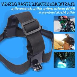 Head Strap Mount Belt Elastic Headband For GoPro Hero 2 3 3+