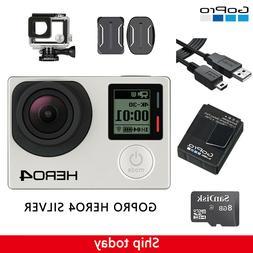 hero 4 silver edition camcorder camera waterproof