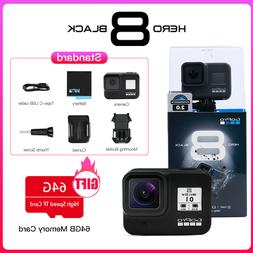 GoPro HERO 8 Black Waterproof Action Camera 4K Ultra HD Vide