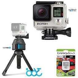 GoPro HERO4 BLACK 12MP Full HD 4K 30fps 1080p 120fps Built-I