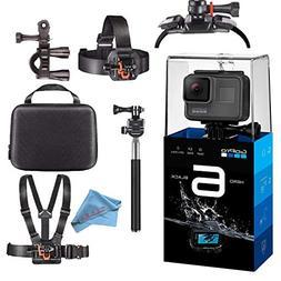 GoPro HERO6 Black 4K Action Camera Starter Bundle W/Accessor