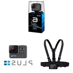 GoPro HERO6 Black w/Free GoPro Chesty and GoPro Plus