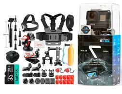 GoPro HERO7 Black 12MP Waterproof 4K Camera Camcorder + 32GB
