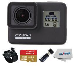 GoPro HERO7 Black-Waterproof Action Camera-4K HD Video+32GB