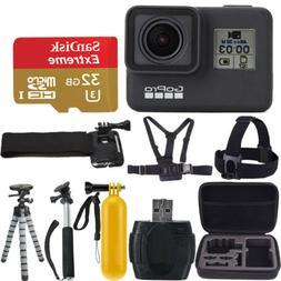 GoPro HERO7 Black Waterproof 4K HD Video 12MP Digital Action
