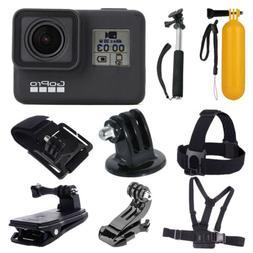 GoPro HERO7  Waterproof Digital Action Camera + Monopod +Che