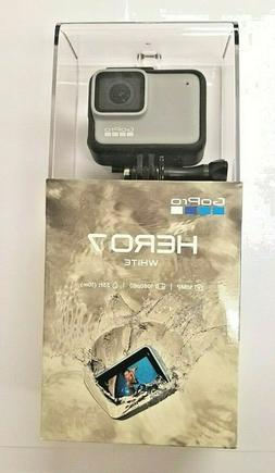 GOPRO HERO7 WHITE WATERPROOF ACTION CAMERA 10MP 1080P TOUCH