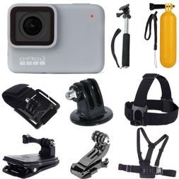 GoPro HERO7  Waterproof Digital Action Camera + Top Value Ac