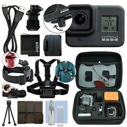 GoPro HERO8 Black 12 MP Waterproof 4K Camera Camcorder + Ult