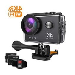 Hicober Action Camera - Ultra 4K HD Action Cam - 12MP WIFI S