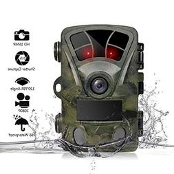 ECLEAR 16MP 1080P Hunting Trail Game Camera, Infrared Night