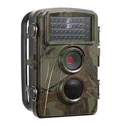 SODIAL 12MP 720P Hunting Camera Waterproof Wild Trail Camera