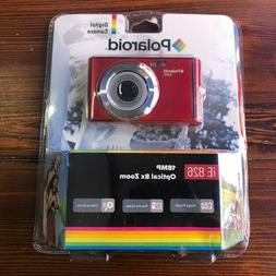 Polaroid iE826-RED 18MP Compact Digital Camera 2.4-inch LCD