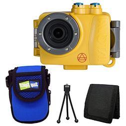Intova DUB Waterproof Photo & Video Action Camera  + Intova