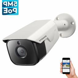 5MP HD IP PoE Camera Outdoor, ONWOTE 5 Megapixels 2592x 1944