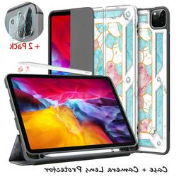 """For iPad Pro 11"""" 12.9"""" 2020 Case Stand Pencil Holder Cover+C"""