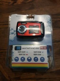 Polaroid iXX 090 20MP Waterproof Digital Camera - Red - New