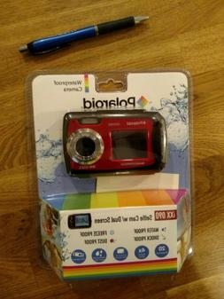 Polaroid iXX 090 20MP Waterproof Digital Camera - Red  NEW