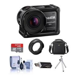 Nikon KeyMission 170 Action Camera - With Free Accessory Bun