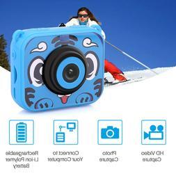 Kid Waterproof Camera Video Digital 1080 HD Screen Toy Build