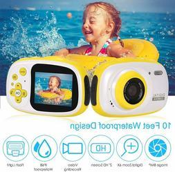 Kids Waterproof 2.0 inch Mini Digital Camera HD 8MP Toddler