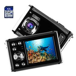 Kids Waterproof Camera, Digital Underwater Camera for Childr