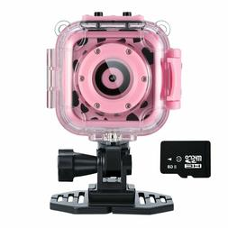 Ourlife kids Waterproof Camera with Video Recorder includes