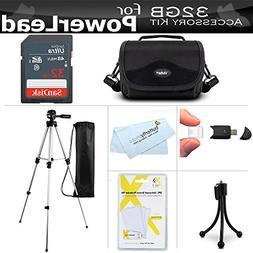 32GB Accessories Bundle Kit For PowerLead Puto PLD078, PLD00