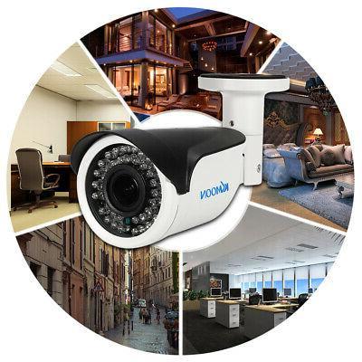 KKmoon 1080P Outdoor Bullet CCTV Camera 2.8~12mm J3L7