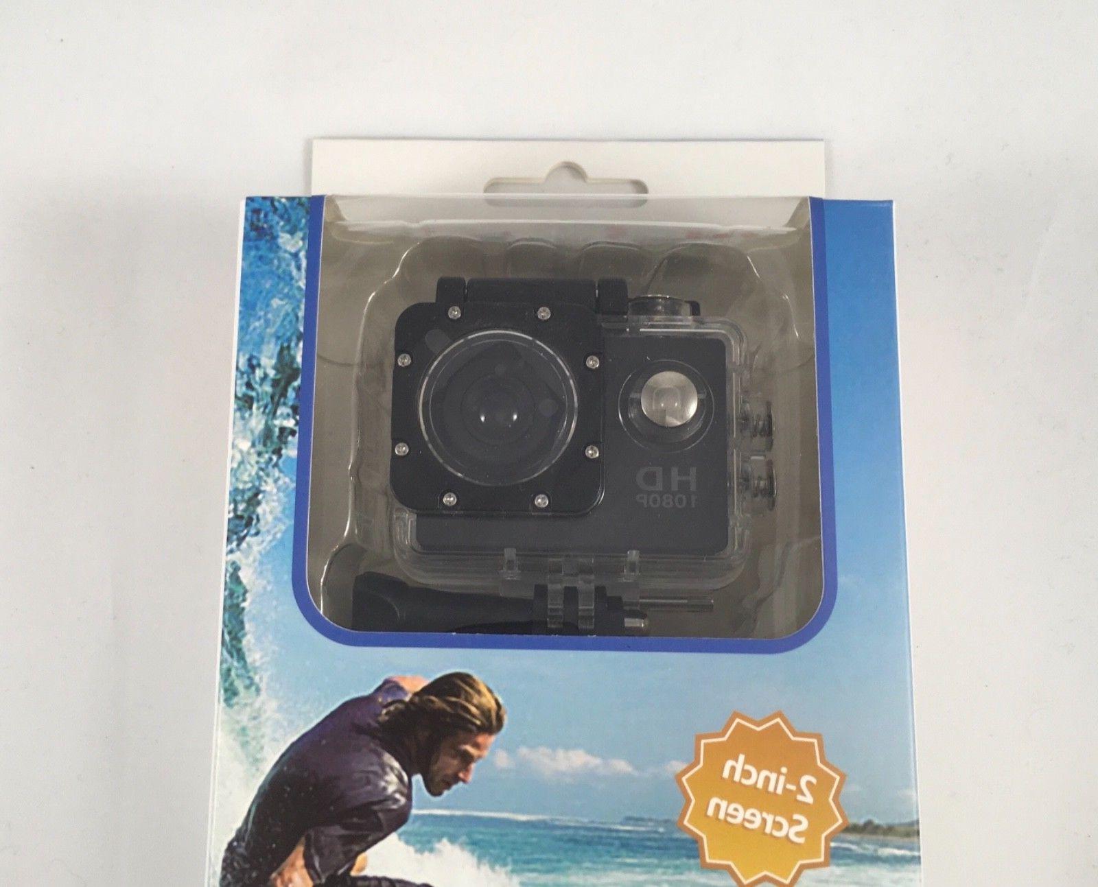 1080p Action helmet camera w/ mount