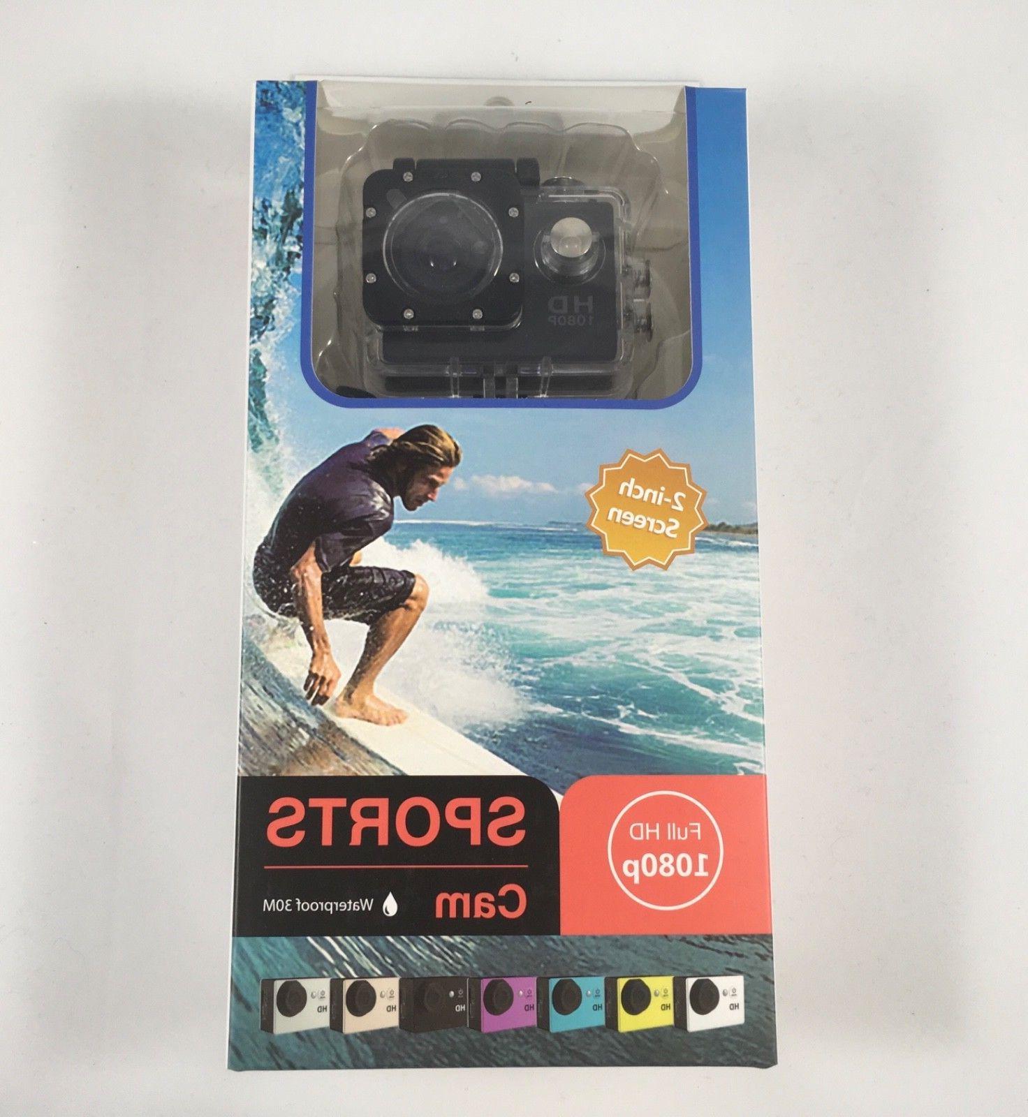 1080p Action Camera helmet camera mount