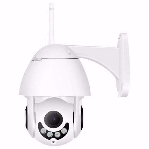 WiFi PTZ Pan Security IP IR Night Vision