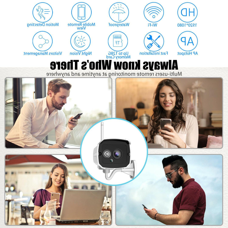 1080P Security Camera Video