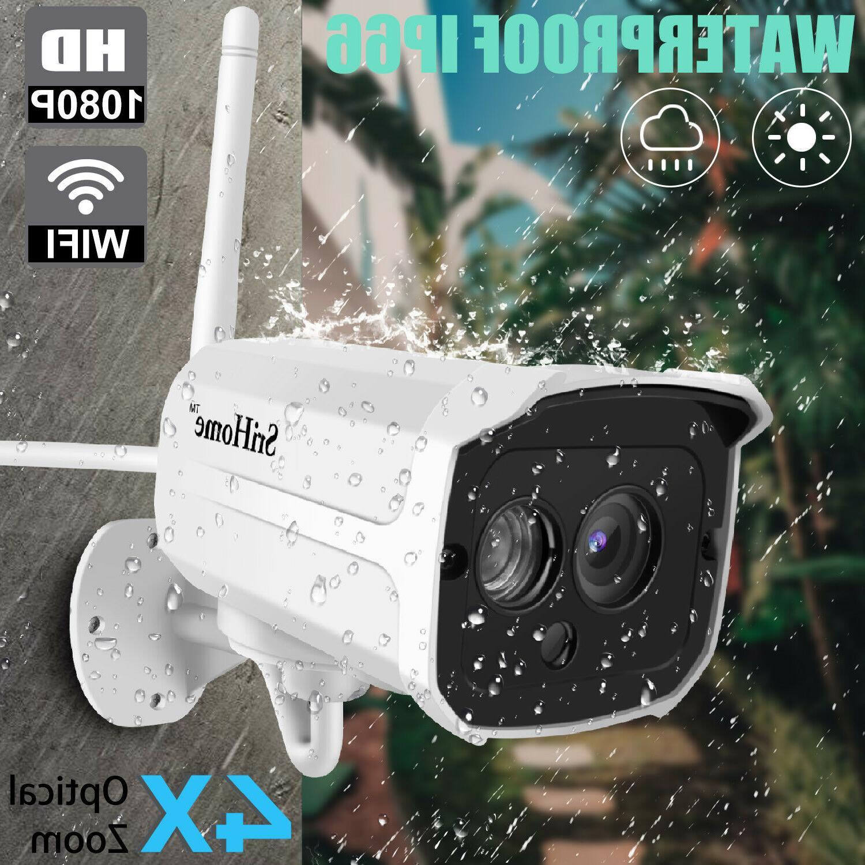 1080p security ip camera video wireless waterproof