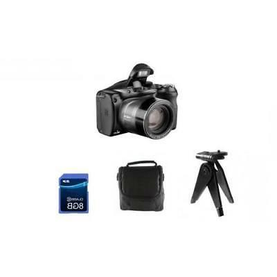 18 MP Digital Camera With Waterproof Gadget Bag 8Gb SD Card