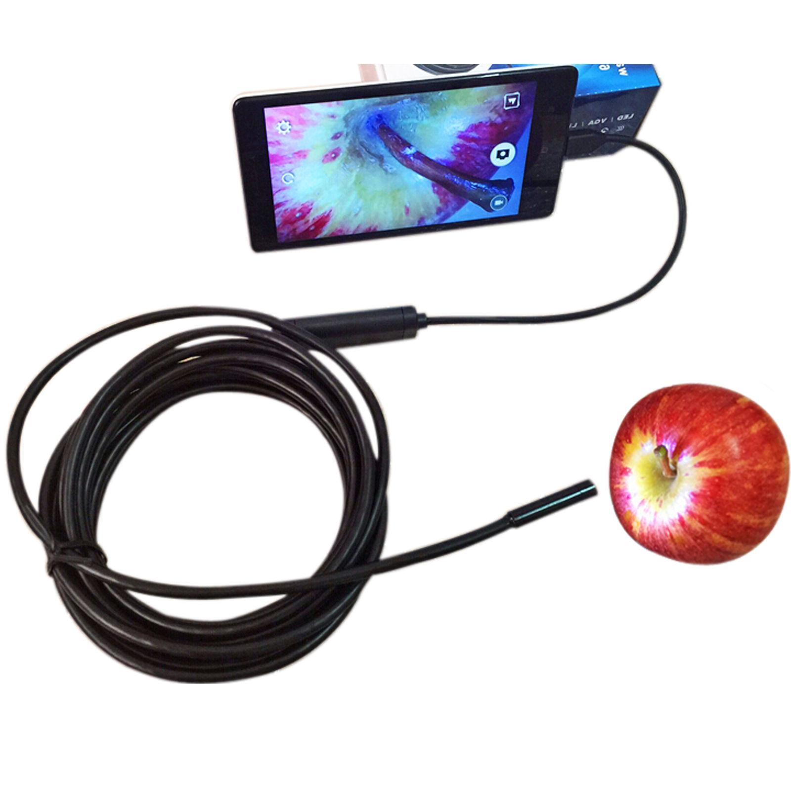 1M 2M 5M 7mm Android Borescope