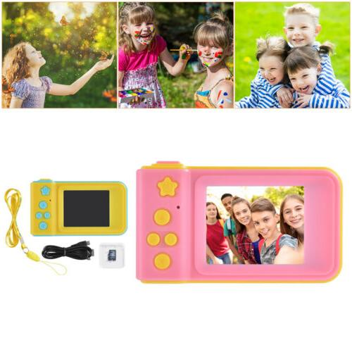 "Waterproof 2"" Mini Screen Kids Digital Camera Dust Proof Pro"