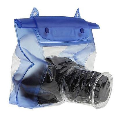 20m Waterproof DSLR SLR Camera Underwater Housing Case Pouch