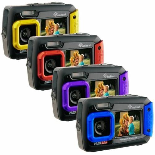 20mp underwater waterproof digital camera w full