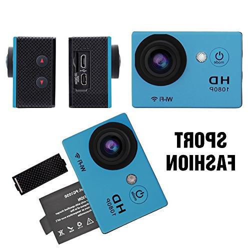 "Yuntab HD 12 Sport Mini DV Action Camera 2.0"" Angle 30M WiFi Outdoor Sports"