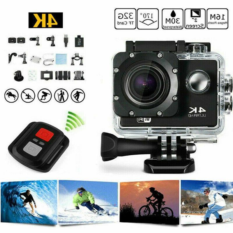 4k 16mp 1080p wifi waterproof sports action