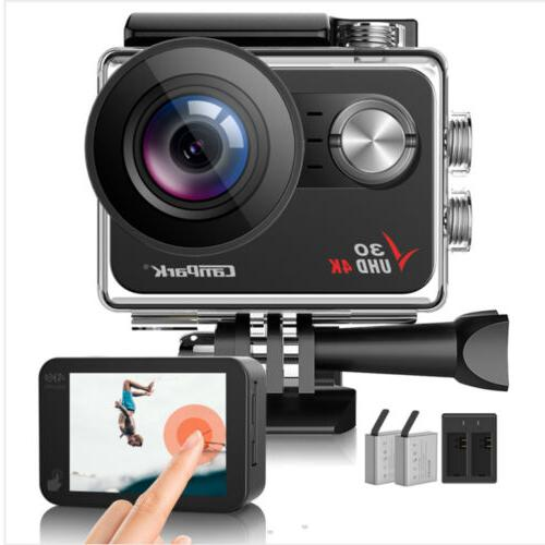 v30 action camera 20mp waterproof 4k ultra