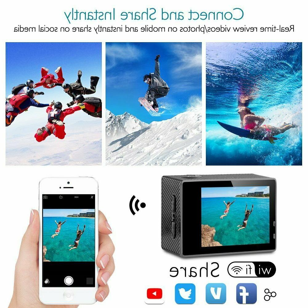 Dragon Touch Waterproof Action Accessory Kit