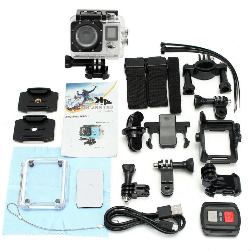 4K Waterproof Action 16MP Protable Camcorder